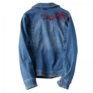 VTB0218 Джинсовая куртка с вышивкой