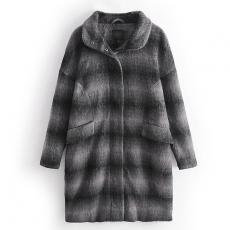 VPS0206 Женское пальто кокон