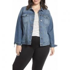VJP0212 Женская джинсовая куртка