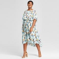 Платье макси PLP0019 размеры 56-76