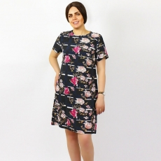 Платье миди PLP0041 размеры 48-54