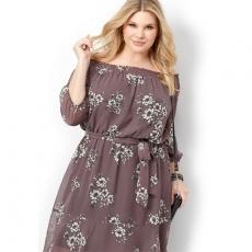 Платье миди PLP0024 размеры 48-54