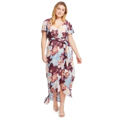 Платье макси PLP0026 размеры 56-66